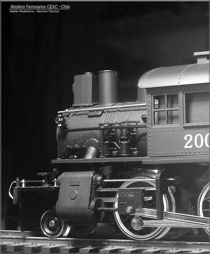 https://flic.kr/p/RGRv9U | Rare bird | — Ficha Técnica Modelismo: #13385-4027 Modelos Ferroviarios CEAC - Chile