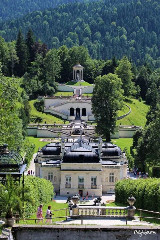 King Ludwig Ii Of Bavaria S Schloss Linderhof Ettal Abbey Germany Mad King Ludwig Ii S Linderhof Pala In 2020 Linderhof Palace Germany Castles Beautiful Castles