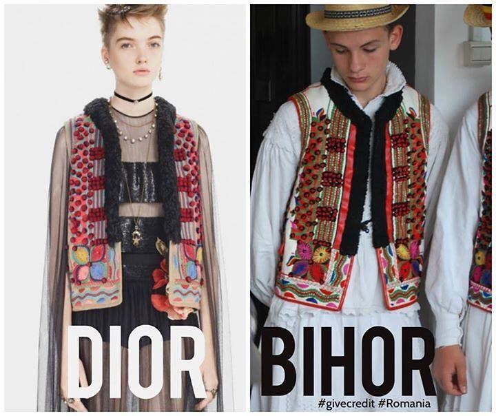 """1,525 Likes, 29 Comments - La Blouse Roumaine (@lablouseroumaine) on Instagram: """"Probably the one of the most blatant copies of 2017: @dior pre fall """"bohemian"""" vest, a perfect…"""""""