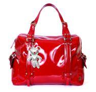 Il Tutto Nico Nappy Bag in Red