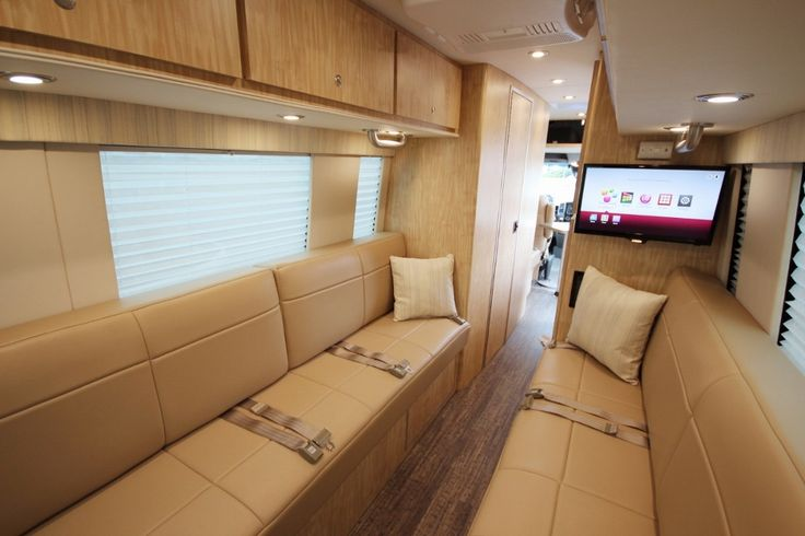Sprinter standard B, dry bath and kitchen up front, chill and sleep in back.