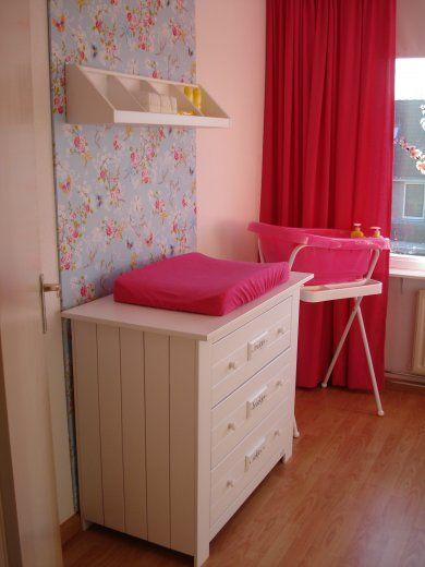 Meer dan 1000 idee n over roze meisjeskamers op pinterest meisjeskamers girls bedroom en - Muur kleur babykamer meisje ...