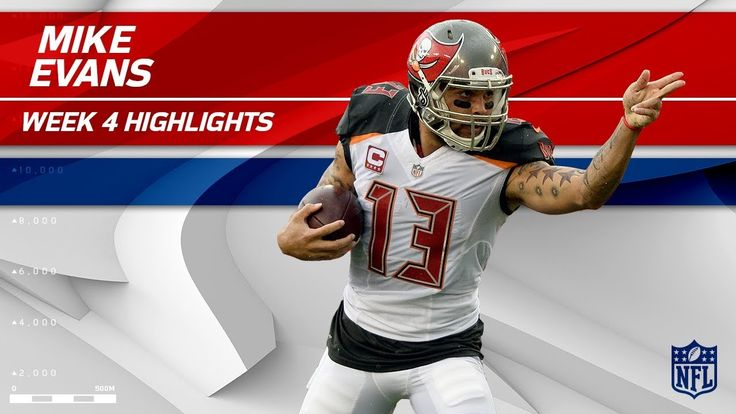 cool Mike Evans' Big Day vs. New York! | Giants vs. Buccaneers | Wk 4 Player Highlights