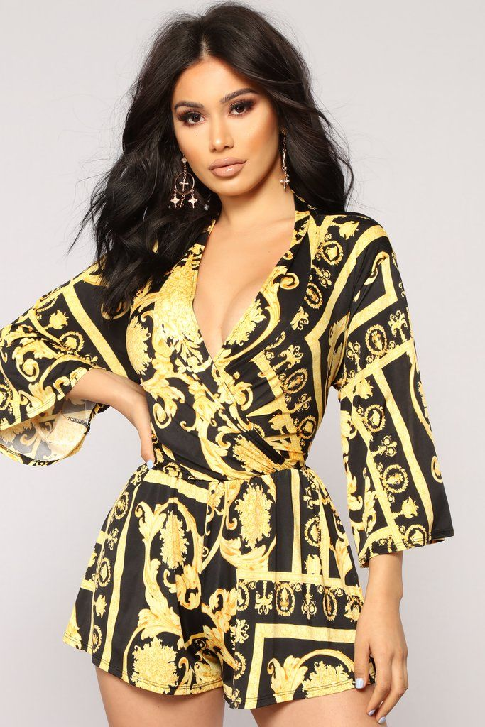 d9341a6166b1 That s Me Romper - Black Yellow in 2019