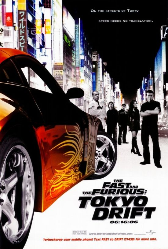 The Fast and the Furious: Tokyo Drift Movie Poster Print (27 x 40) - Item # MOVCH6287 - Posterazzi