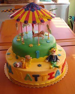 Cake giostra