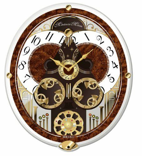 Seiko Melodies In Motion Swarovski Crystallized Clock   Best Chiming Wall  Clocks For Redecorating Or Wall Art. How About A Chiming Clock?