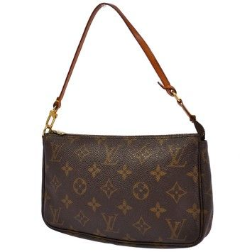 Louis Vuitton Pochette Pouch Monogram Small Handbag Clutch. Get the trendiest Clutch of the season! The Louis Vuitton Pochette Pouch Monogram Small Handbag Clutch is a top 10 member favorite on Tradesy. Save on yours before they are sold out!