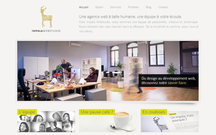 Impala Webstudio  Best Website of February