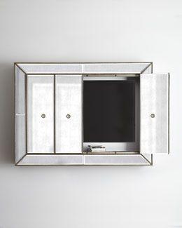 """H72E9 """"Murano"""" Flat-Screen Wall Cabinet"""
