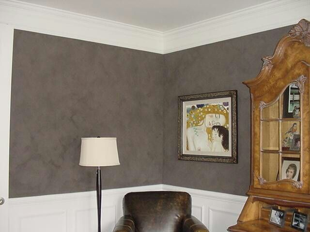 Gray Suede Walls For Master Bedroom For The Home