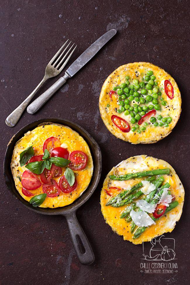 Frittata śniadaniowa / przepis z bloga Chilli, Czosnek i Oliwa