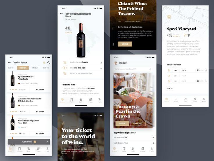 Wine Searcher App by Tom Koszyk