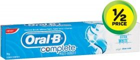 Oral B Complete Toothpaste 150/155g