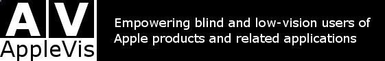 iOS Apps Developed Specifically for the Blind or People with Low Vision