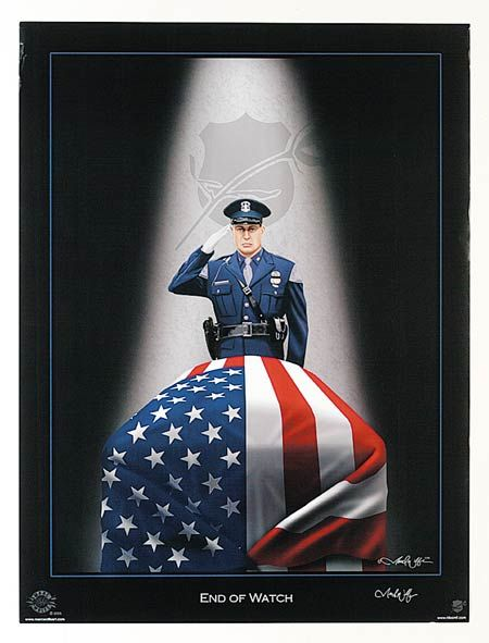 National Law Enforcement Officers Memorial Fund: for the family and children of officers killed in the line of duty.
