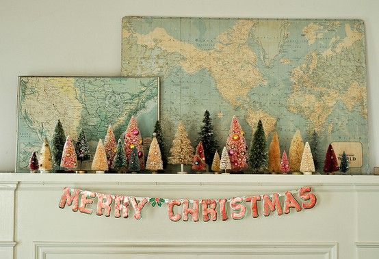 Hula, you'll always have my most favorite Christmas mantle ever!