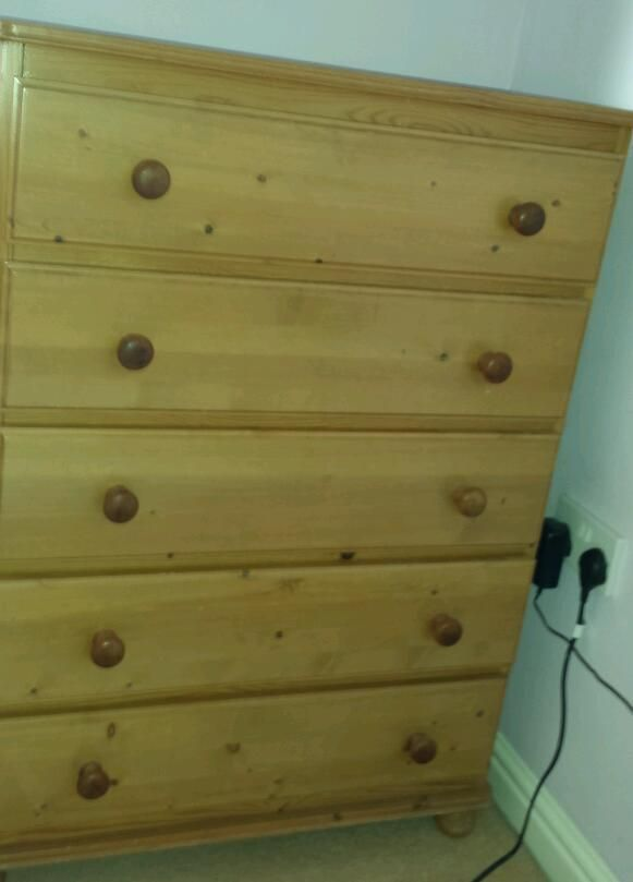 pine drawers  gumtree 1