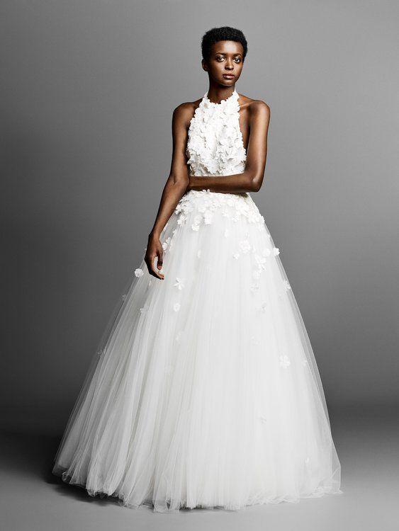 40 vestidos de novia cuello halter. ¡deslumbra con estos diseños tan