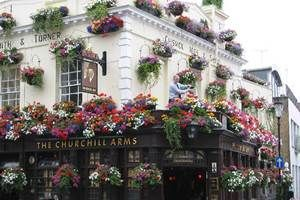 The Churchill Arms, Notting Hill