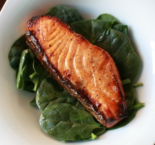 maple-glazed salmon | Food in the Kitchen | Pinterest