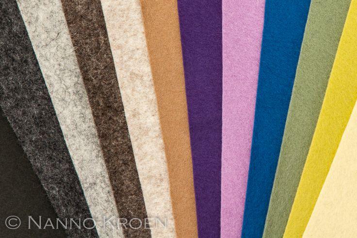 Gedempte kleuren: gemengd met grijs.