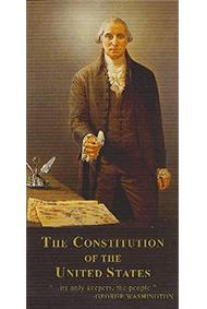 BackDetailsThe power under the Constitution will always be in the people. -- George Washington The National Center for Constitutional Studies has printed a special edition copy of the Constitution of the United States that has been proofed word-for-word against the original Constitution housed in the Archives in Washington, D.C. It is identical in spelling, capitalization and punctuation. This 48-page pocket Constitution also includes the Bill of Rights, Amendments 11-27, The Declaration of…