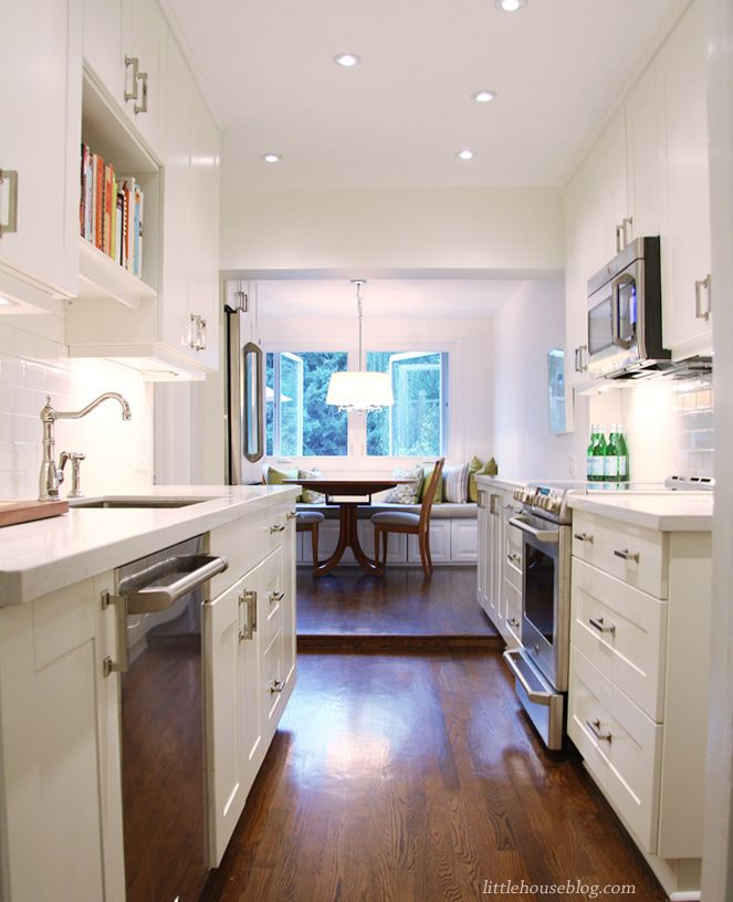 Classic White Galley Kitchen 17 best images about kitchen dreams on pinterest