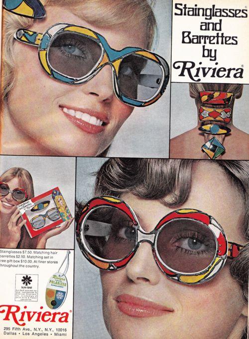 Stainglasses & Barettes | 70's Riviera