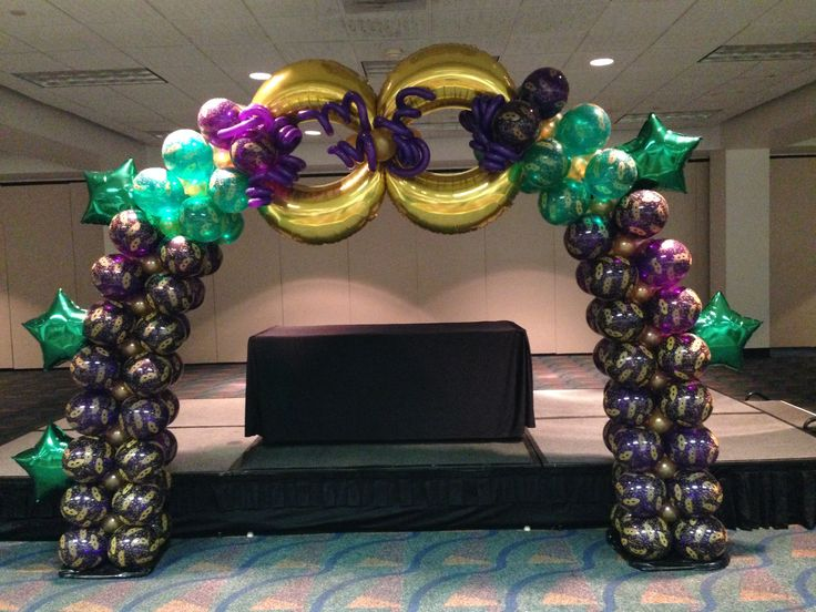 pic journal: Mardi Gras Arch