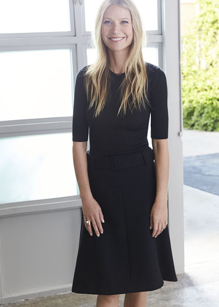 We got to see a day in the life of Gwyneth Paltrow.