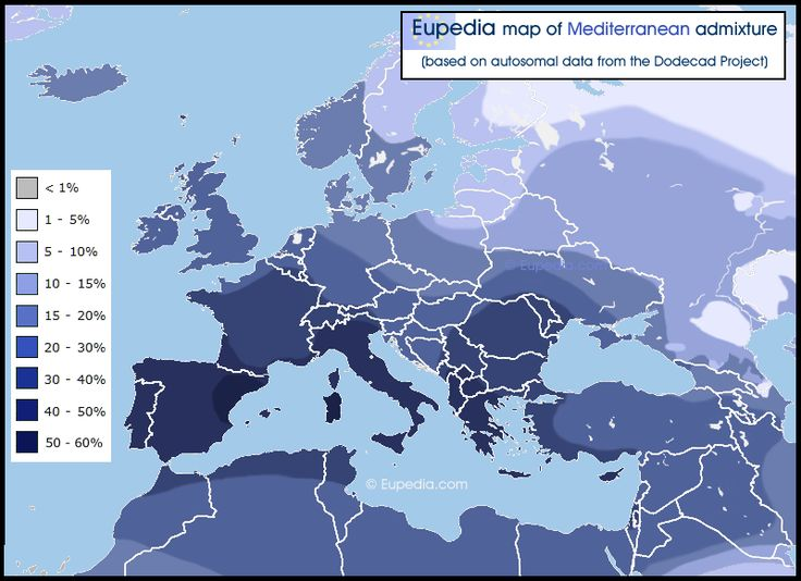 The Mediterranean Admixture Was Was Brought By Near Eastern Neolithic Farmers And Peaks In The Sardinian Population Today Economic Map Map Europe Map
