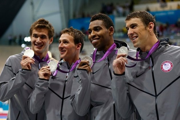 2012 Olympics Silver Medal winners - 4x200 Relay.  Congratulations!