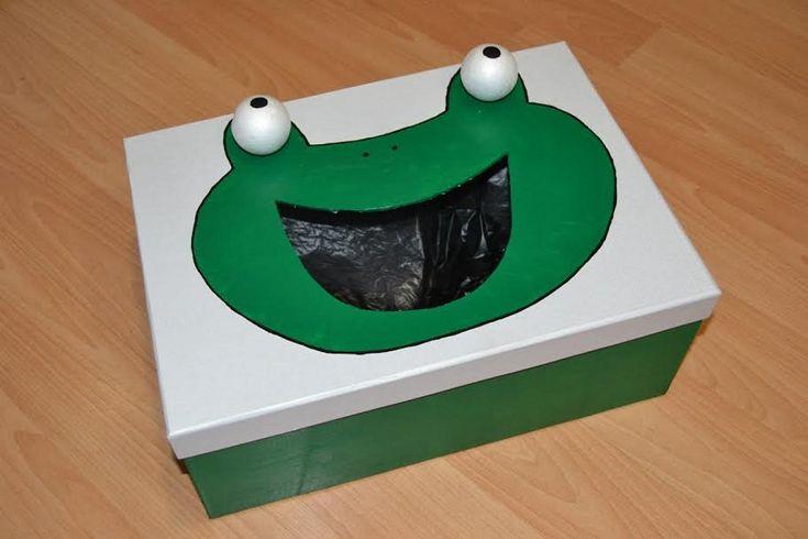 Cómo hacer una divertida papelera infantil | Aprender manualidades es facilisimo.com