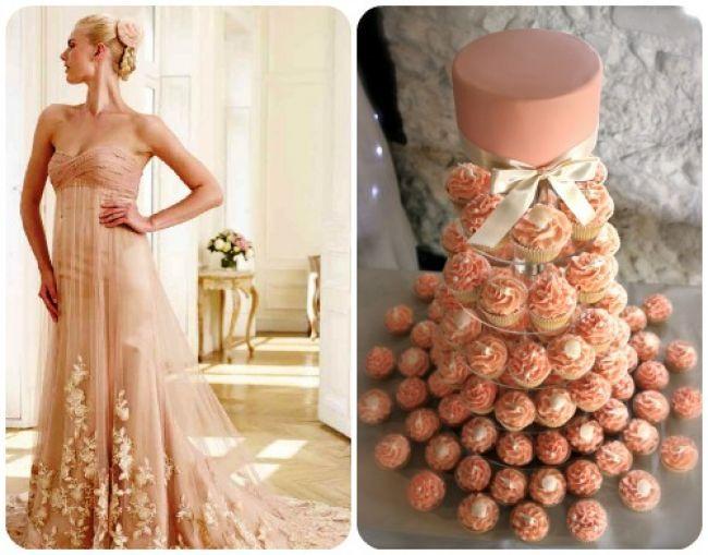 20 abiti da sposa 2014, abbinati ad altrettante torte nuziali: delizia per gli occhi e per il palato! Image: 11