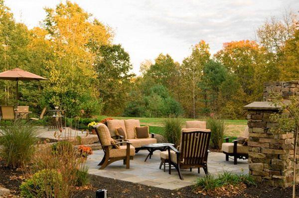 Удобная двор Патио наборы мебели дизайн - двор Мебель для патио идеи