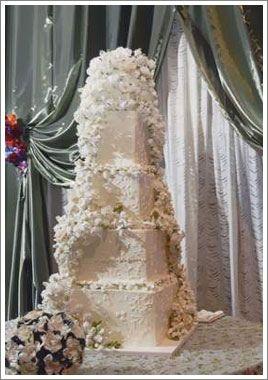 White Rose Weddings Sylvia Weinstock Wedding Cakes