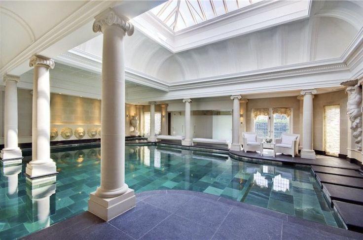 Opulent mansion in lyndhurst road london home indoor pool for Pool design london