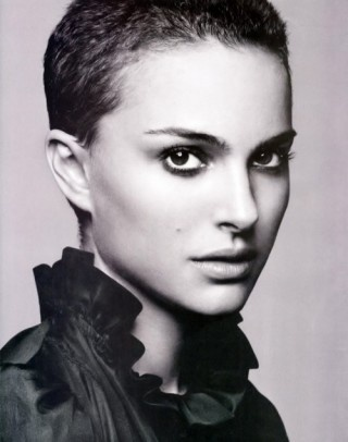 Natalie Portman- how can someone be so beautiful with a shaved head?