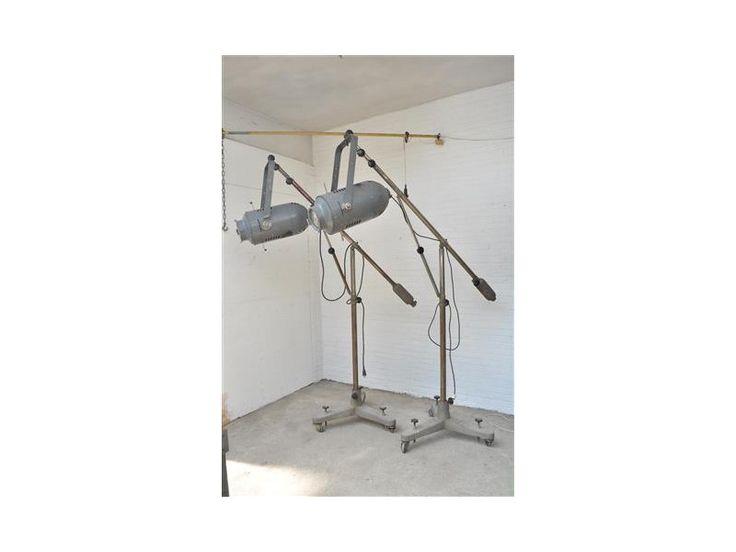 theater spot, op statief, 3-poot statief, 3-poot, industriële meubels, de fabrikeur, hanglamp