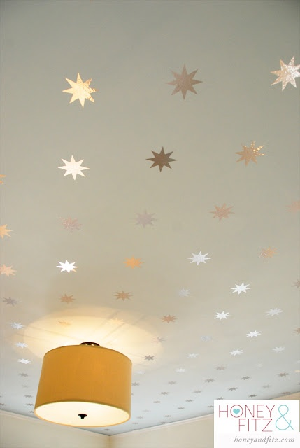 Kids Wallpaper Starry Wallpaper For Your Ceiling Kidsrooms Kidswallpaper