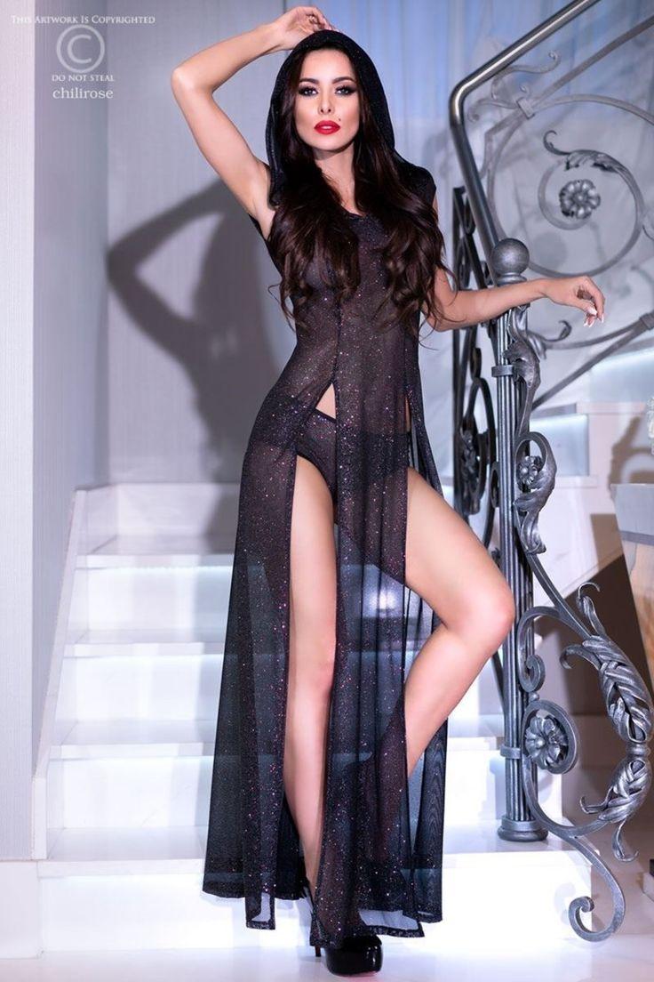 CR4259 Langes Kleid von Chilirose Dessous - 5902018030824 ...
