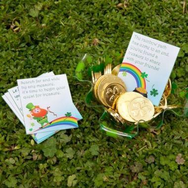 Go on a treasure hunt! | St. Patrick's Day Crafts & Recipes - Parenting.com