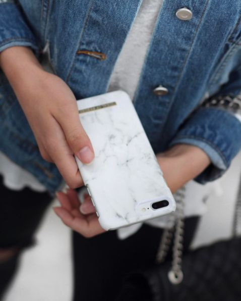 White Marble by lovely @claudiadicapua - Fashion case phone cases iphone inspiration iDeal of Sweden #marble #gold #fashion #inspo #iphone #marmor