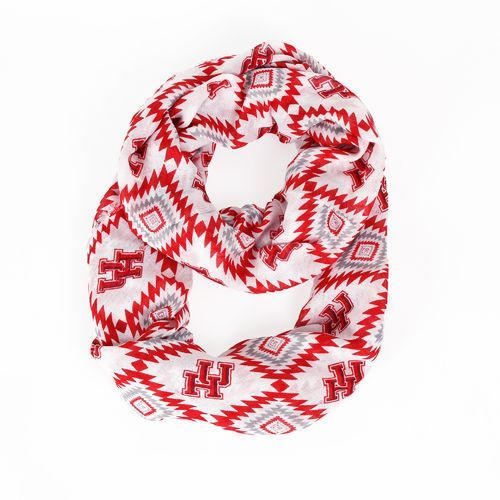 ZooZatz Women's University of Houston Southwest Infinity Scarf