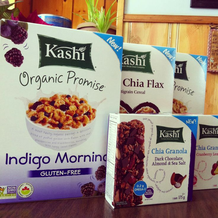 Review Organic: #KashiCanada - New Organic Promise and Chia Products (Ends 04/11 - Canada only)