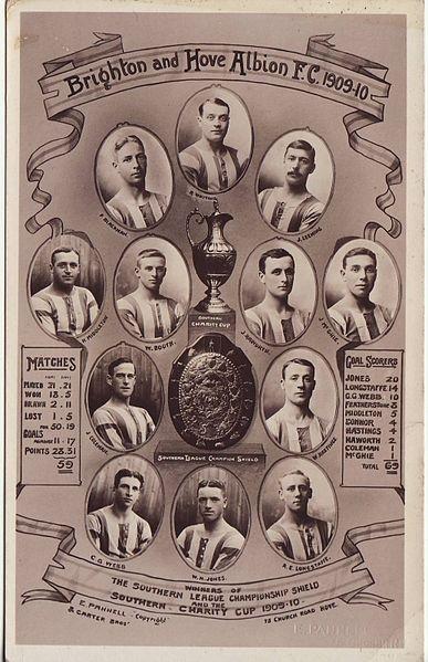 Brighton & Hove Albion FC Team: 1909-1910 season #bhafc