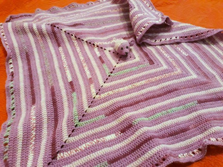 Blanket baby crochet. Paturica pentru bebe.