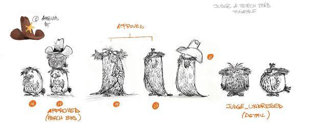 Desenhos De Sandro Cleuzo Para O Filme Angry Birds: The Art Of The Angry Birds Movie