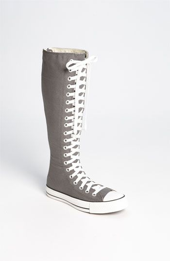 Converse Chuck Taylor® XX Hi Knee High Sneaker available at #Nordstrom i wish these were in some crazy pattern